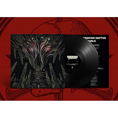 Bloodsoaked Necrovoid - Expelled into the Unknown Depths of the Unfathomable (2020) vinyl