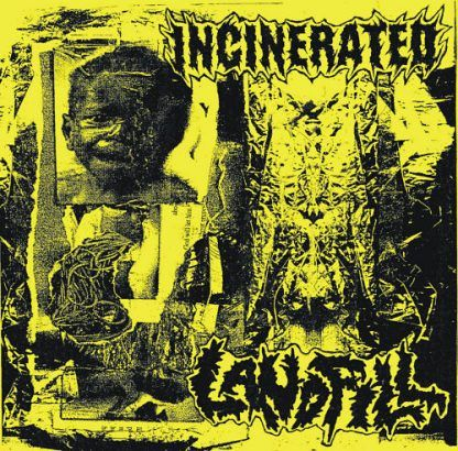 """INCINERATED / LANDFILL split 7""""EP (2019)"""