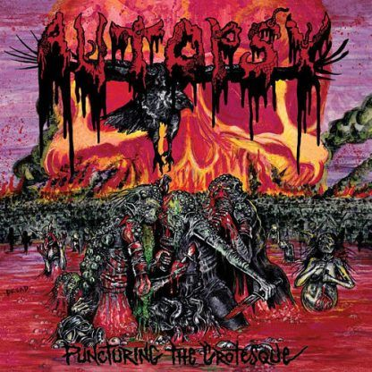 """Autopsy - """"Puncturing the Grotesque"""" (EP)"""